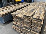 Spoorplanken eikenhouten gebruikte planken 23x260 mm_