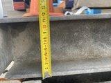 hea 120 stalen balk 580 cm lengte gebruikt gegalvaniseerd_
