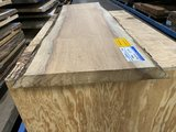 Iroko boomstam tafelblad   50 mm dik 75x220  cm w10_