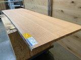 Moabi 30 mm dikte boomstam blad bureablad 68x220 cm w25_