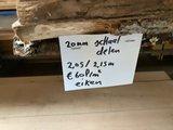 eikenhouten schaaldelen geschaafd 20 mm diverse breedtes_