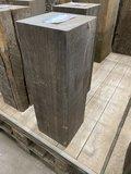 20x20 cm x 45 cm hoogte hardhouten meerpaal sokkel_