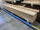 28x190 mm geschaafd eiken planken met ronde kant 300 cm lengte _