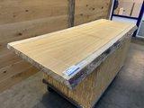iroko boomstam tafelblad  dikte 62 mm 75 cm x199 cm cm ir13_