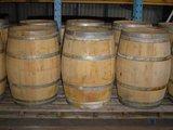 Eiken regenton wijnvat gebruikt, eikenhout regen t_
