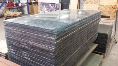 20 mm dikke gebruikte plexiglas platen 103x195 CM