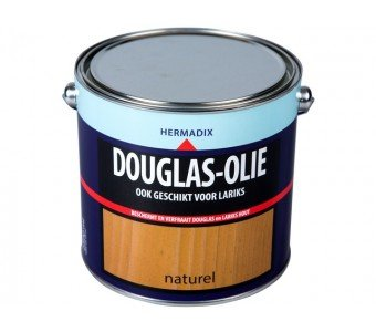 Douglas 2.5 liter olie merk hermadix
