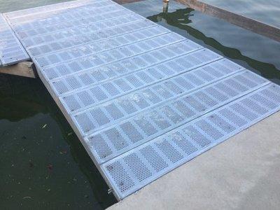 loop rooster steiger gegalvaniseerde planken 3x25x153 cm vlonder