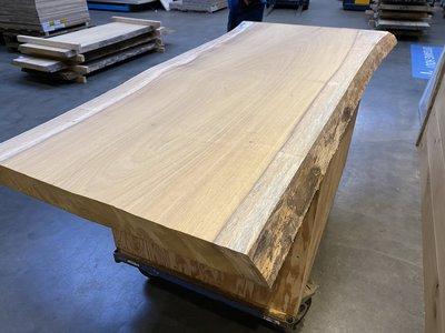 Iroko boomstamblad 62 mm dik geschuurd 83x203 cm ir10